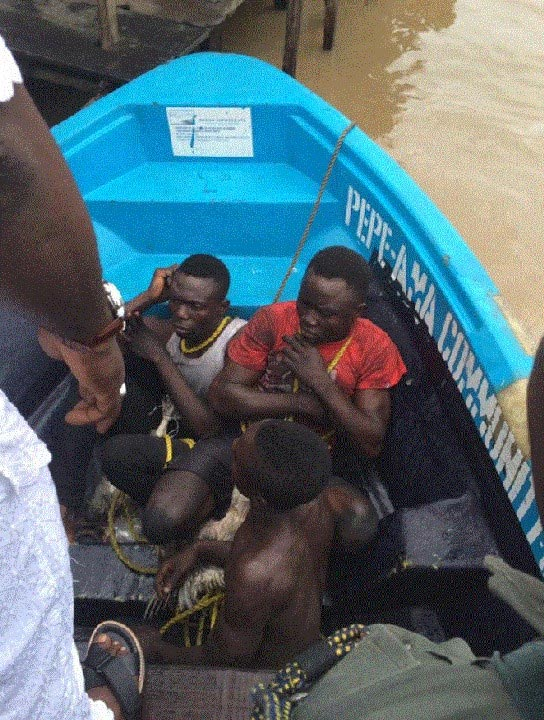 Video: Three cultists nabbed during initiation/sacrifice ceremony