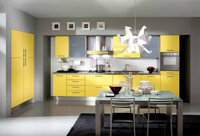 Gorgeous Yellow Kitchens Design 2016 That Leave You Breathless