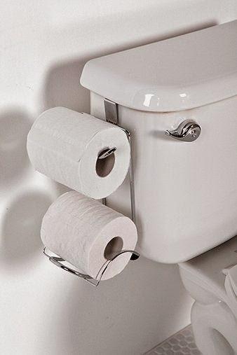Home garden 50 nouvelles astuces pour tout ranger - Porte papier toilette castorama ...