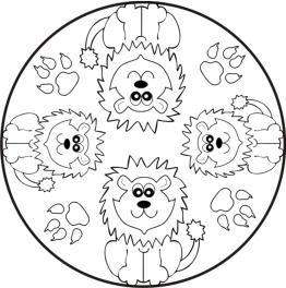 malvorlagen zum ausmalen: mandalas für kinder