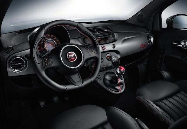 2013 Fiat 500S Interior View