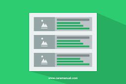 Cara Mengatur Jumlah Karakter Pada Snippet di Homepage Blogger