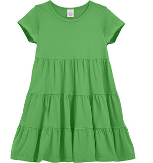 city threads green dress