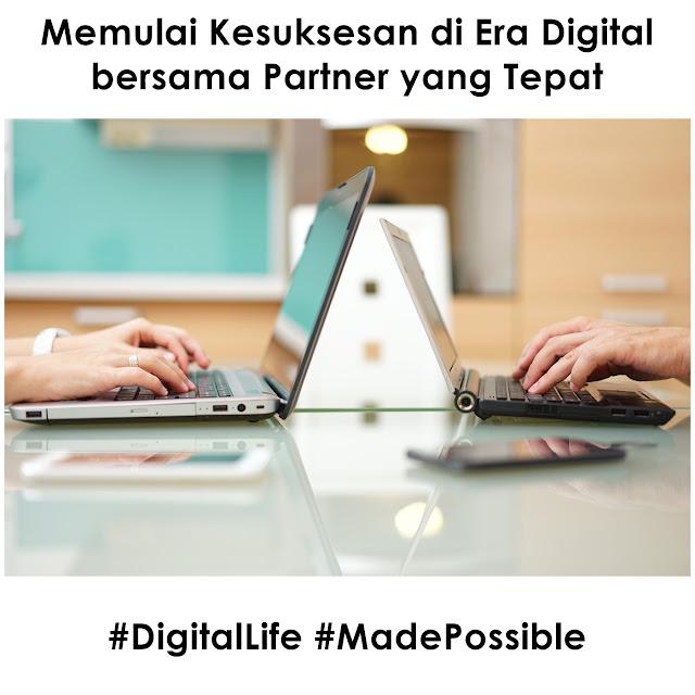 Memulai Kesuksesan di Era Digital bersama Partner yang Tepat