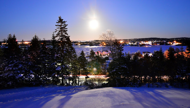 Supermoon, Porters Lake, Nova Scotia 2018