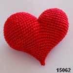 patron gratis corazon amigurumi, free pattern amigurumi heart