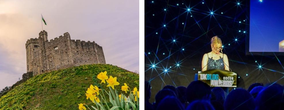 Cardiff Castle Tour, UK Blog Awards 2016