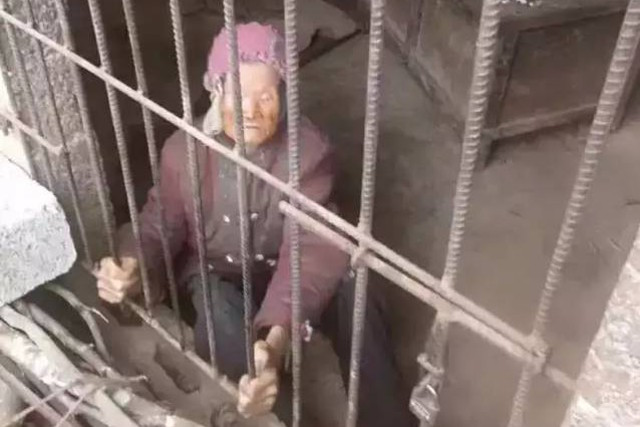 92-Year-Old Mom Locked up in a Pigpen for Years by Her Own Ungrateful Son and His Horrible Wife!
