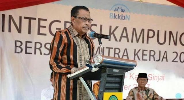 Bupati Sinjai Resmikan Integrasi Kampung KB Bersama Mitra Kerja