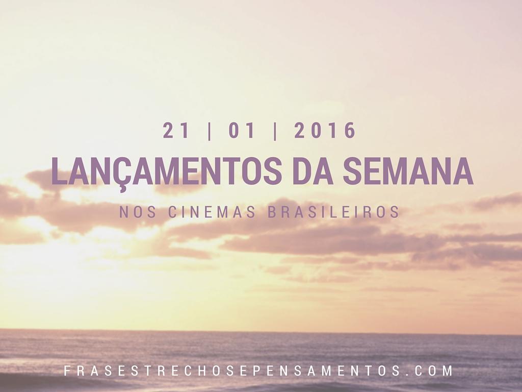 Cinema: Lançamentos da Semana nos Cinemas Brasileiros #03 O Gabriel Lucas - #OGL