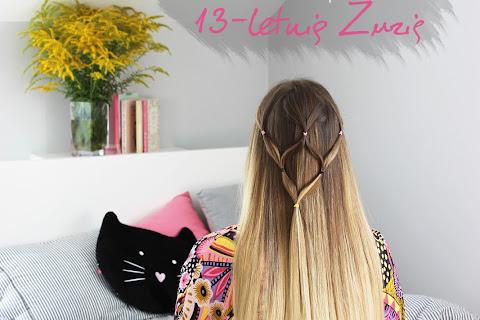 6 oryginalnych fryzur, które zrobiła na moich włosach 13-letnia Zuzia - czytaj dalej »