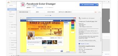 تعرف على كيفية تغيير لون الخلفية في Facebook