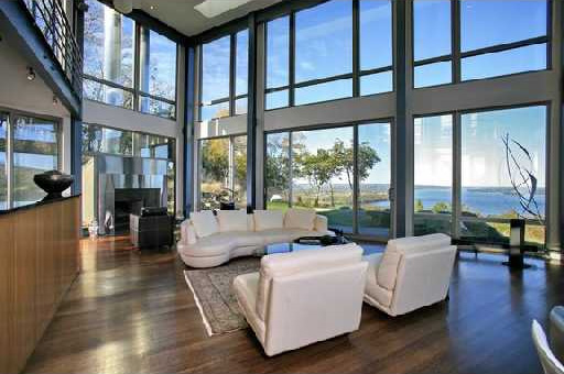 bedroom design blog: Contemporary Glass House Near West ... on Modern Glass House Design  id=31888