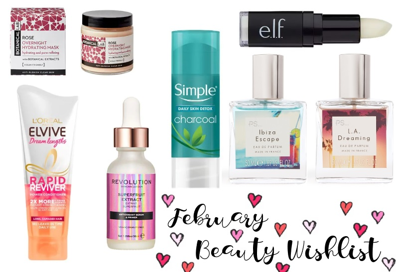 high street beauty wishlist