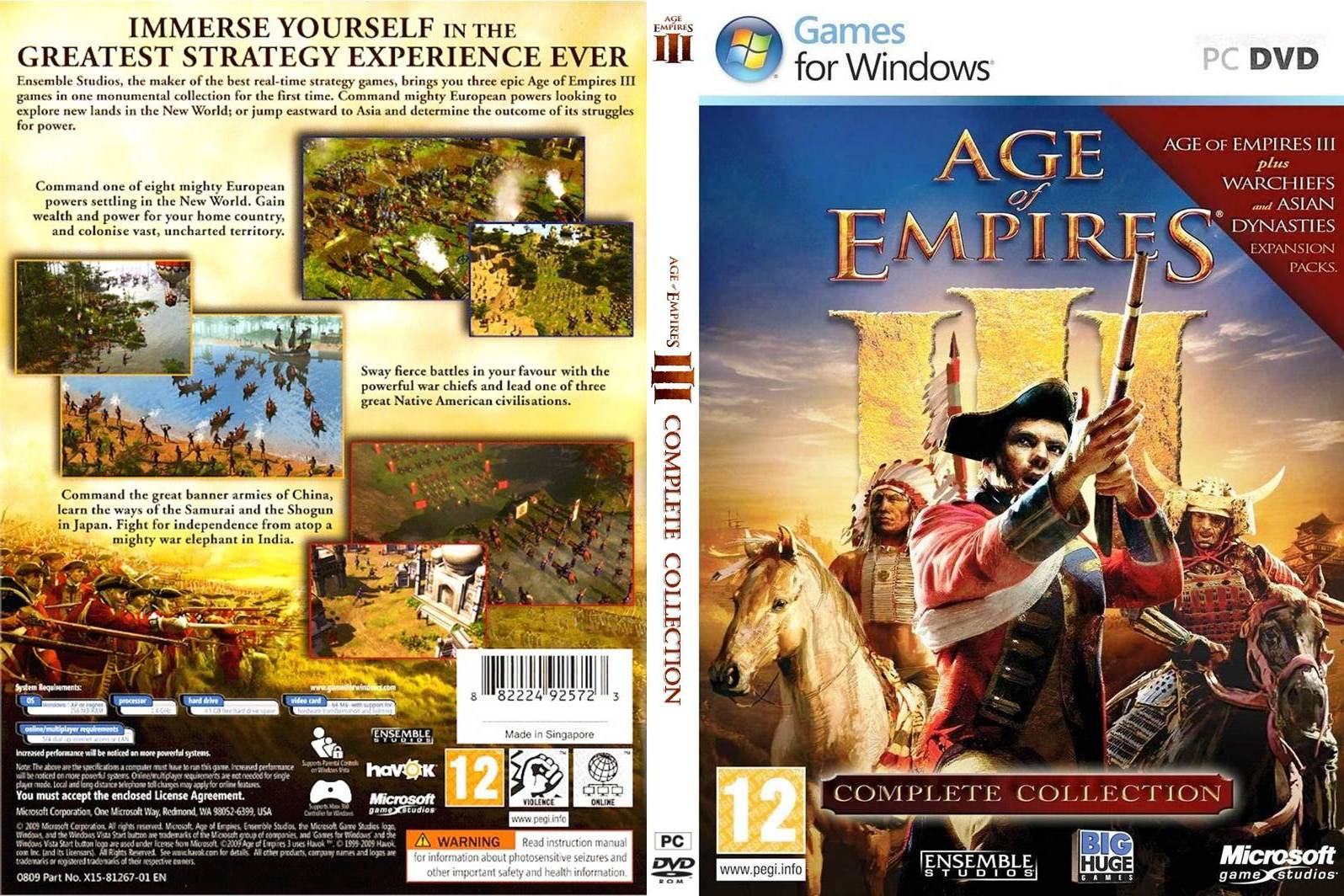 Age of empire 3 complete collection test