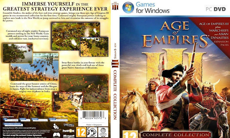 Game PC Age Of Empire III Complete Collection