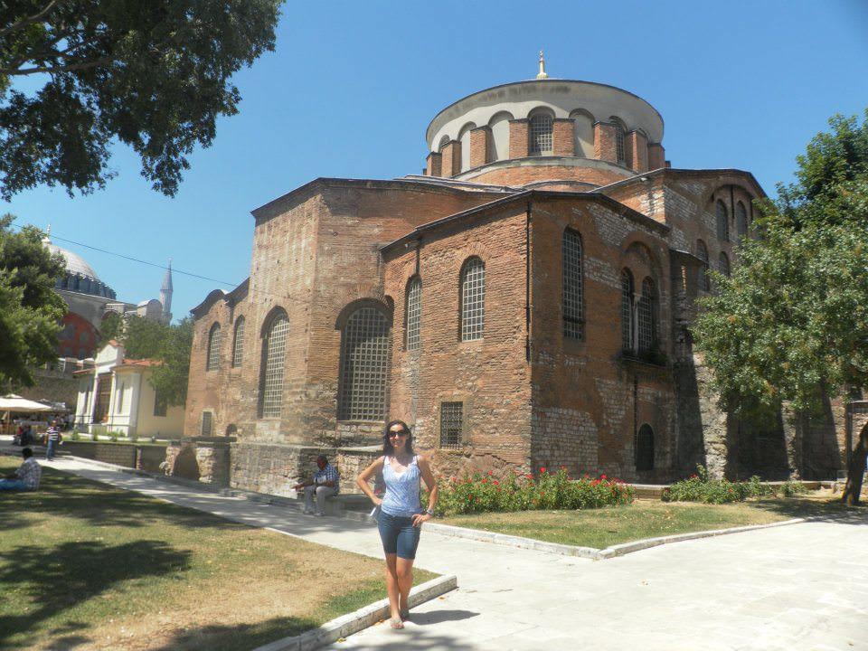 Igreja Irene em Istambul