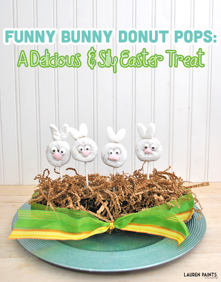 Funny Bunny Donut Pops: A Delicious and Silly Easter Treat