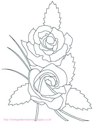 gambar bunga mawar - 8