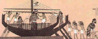 Barco egipcio de comercio