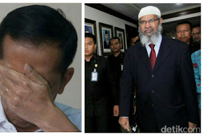 Beda Dengan Pernyataan Jokowi, Zakir Naik : Islam TIDAK Bisa Dipisahkan Dari Politik Pemerintahan