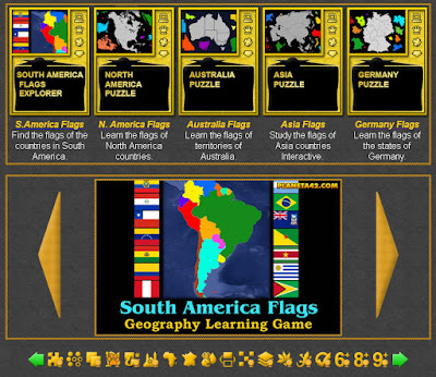 Geography Flag Games