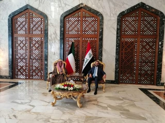 Kuwaiti parliament leader arrives to Baghdad