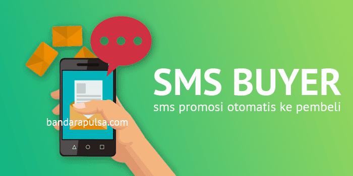 sms buyer promosi pulsa gratis ke pembeli