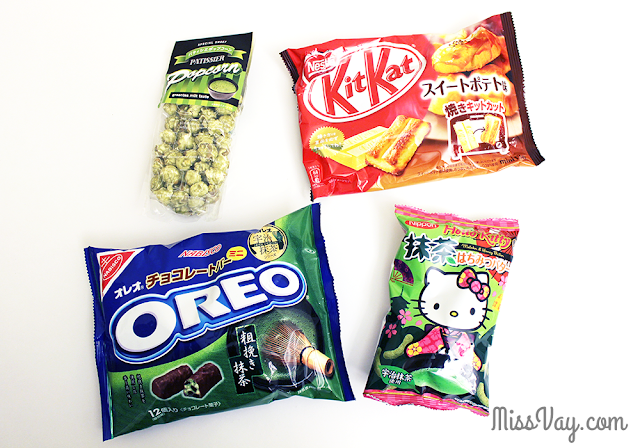Jbox.com Jlist.com japanese snacks friandises japonaises Kit Kat Oreo