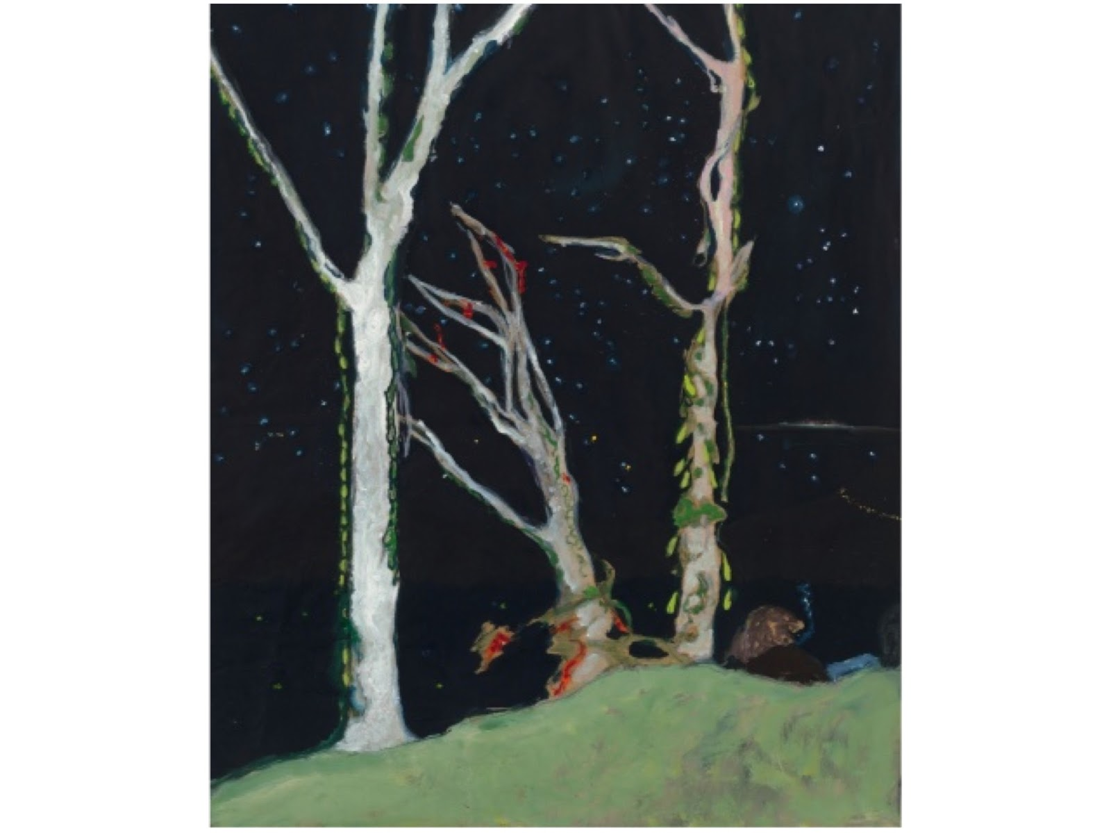 Peter Doig at the Michael Werner Gallery, London