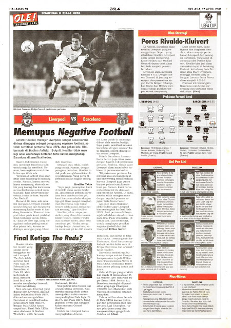 LIVERPOOL VS BARCELONA MEMUPUS NEGATIVE FOOTBALL