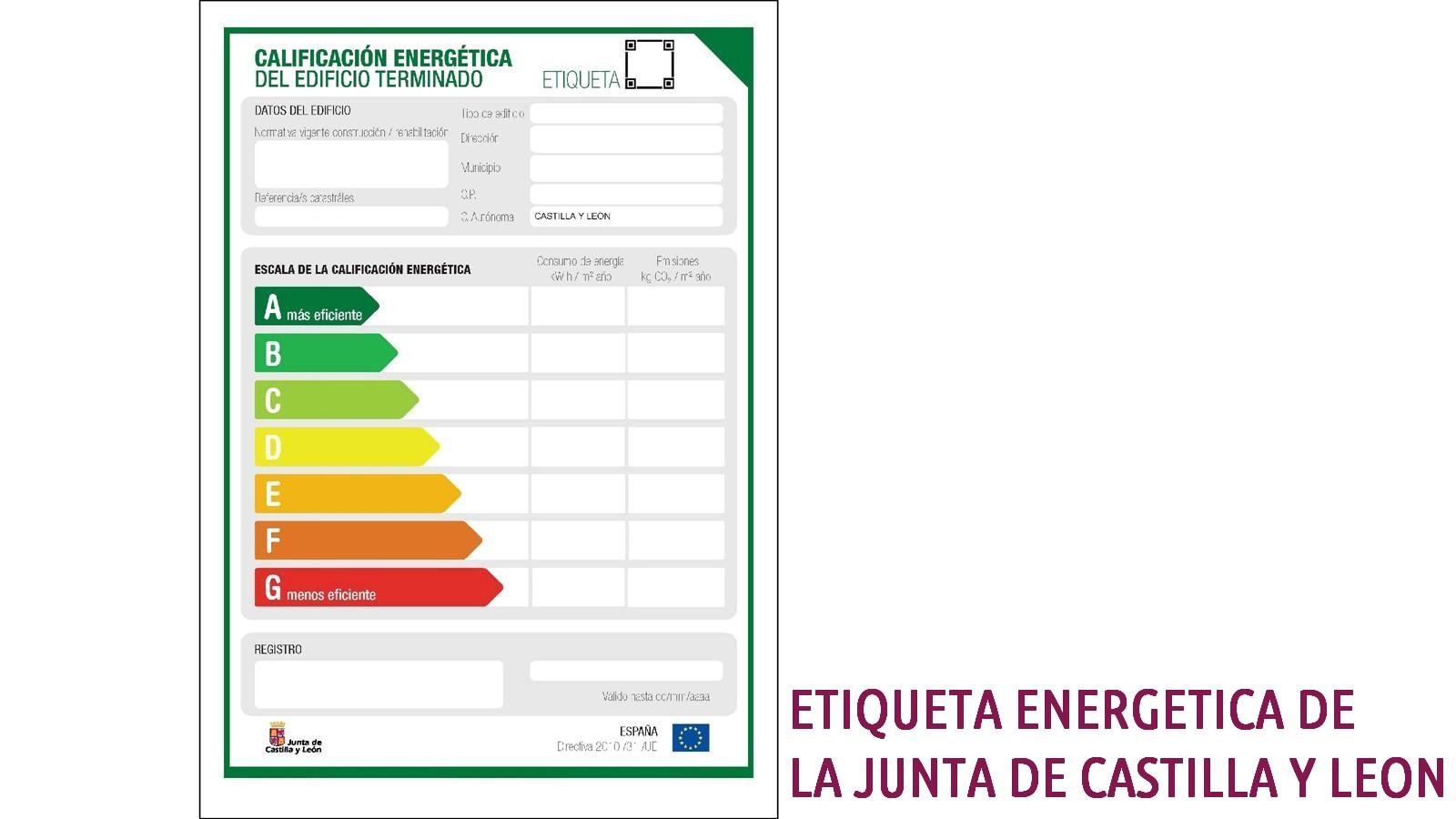 etiqueta energetica