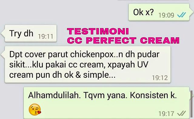 Testimoni Nour Ain Perfect CC Cream