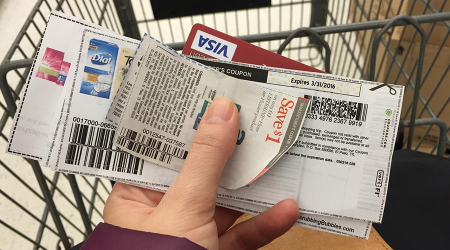 Cupons para compras nos Estados Unidos