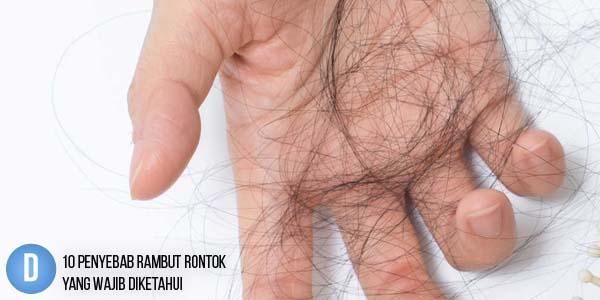 Permalink to 10 Penyebab Rambut Rontok Yang Wajib Diketahui