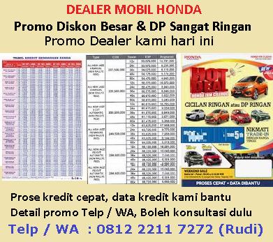 Kredit Harga Mobil Honda Brio Cirebon