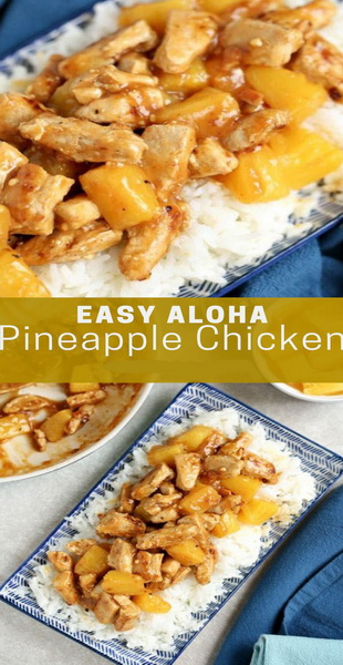 Easy Aloha Pineapple Chicken Recipe