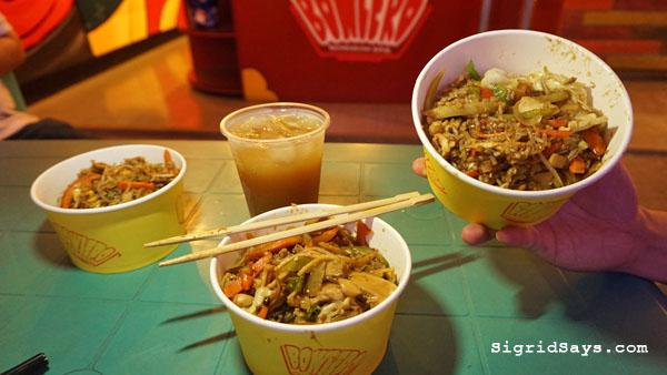 Bowlero Mongolian Bowl - Bacolod restaurants - rice bowls