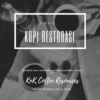 Ngobrol Soal Kopi Bersama Penggiat Kopi Jateng Di KnK Coffee Resources