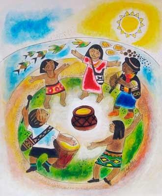 Mi Sala Amarilla Día Del Aborigen Americano Ideas Para El Nivel