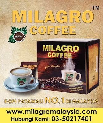 Milagro Coffee Kopi Patawali Yang Pertama No 1 Di Malaysia Dan Dunia Online , Milagro Coffee , Kopi Patawali , Extract Patawali Herbs  , Kopi Premix Berkualiti Tinggi Robusta Dan Arabica , Beli Kopi Patawali Online