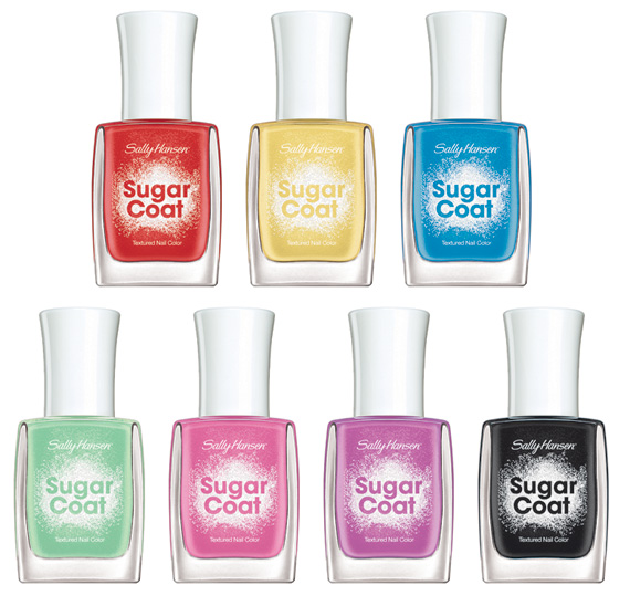 My Pretty Nailz New Sally Hansen Sugar Coats Swatches And Review