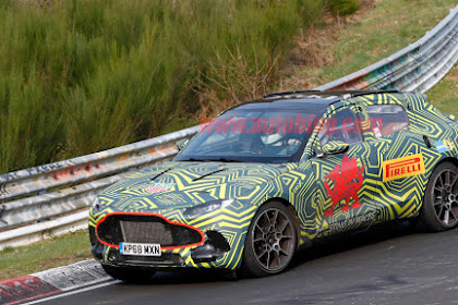 Aston Martin DBX spied with Mercedes-motivated inside uncovered