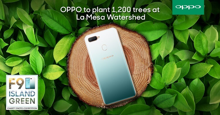 OPPO, Bantay Kalikasan to Plant 1,200 Trees at La Mesa Watershed