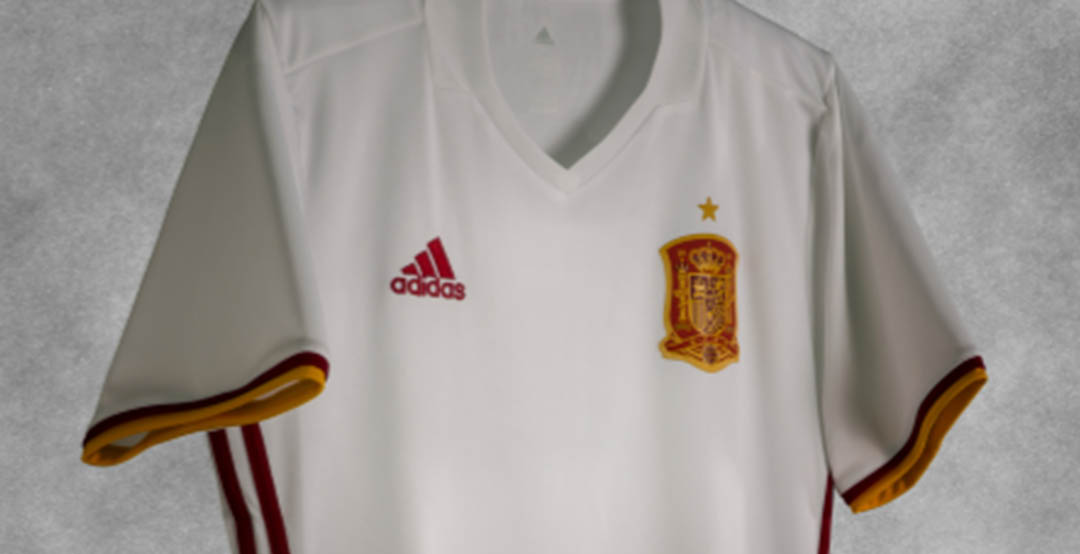 285102b27 The brand-new Spain 2016-17 away kit introduces a stunning design in white