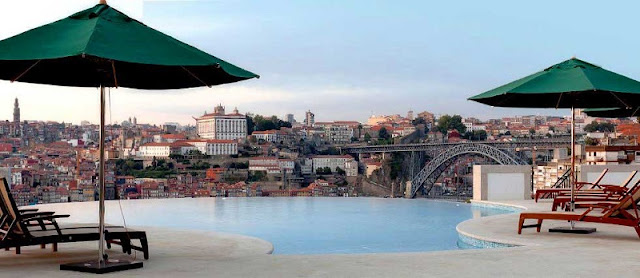 Hotel The Yeatman Porto - piscina
