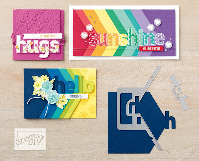 Stampin' Up! Watch It Wednesday - Lined Alphabet Bundle by Stampin' Up!
