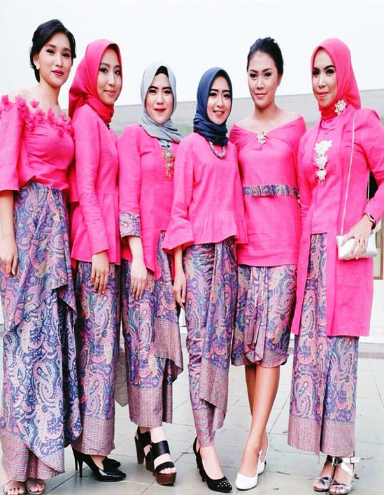 6 Model Kebaya Kutu Baru Hijab 2018 Tren Dunia Hijab Fashion 2018