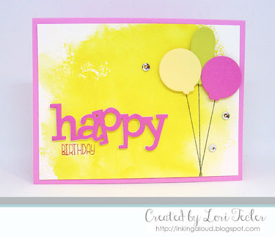 Birthday Balloon Trio card-designed by Lori Tecler/Inking Aloud-stamps and dies from WPlus9