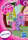 My Little Pony Pony Collection Set Sweetsong Blind Bag Card